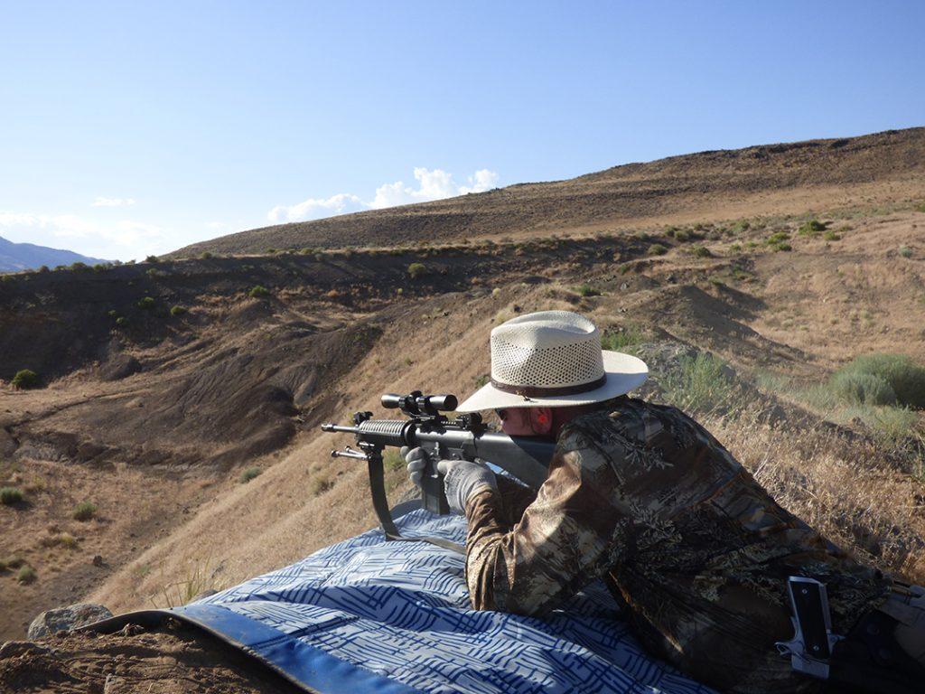 firearms training rifle practice
