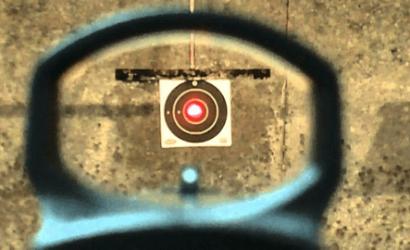 red dot pistol sight