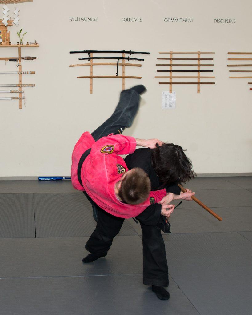 martial arts class adults
