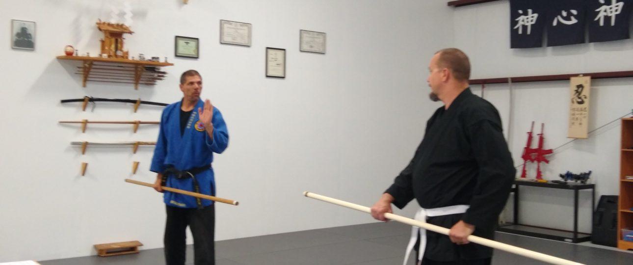 Bo Staff Stick Fighting Class